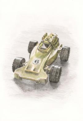 ps ballon racing car